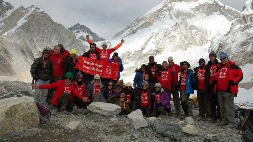 Charity Trek by British Heart Foundation