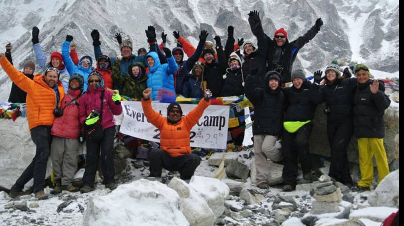 100th trip to everest base camp