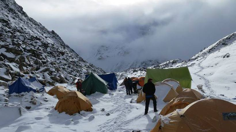 Island Peak Base Camp